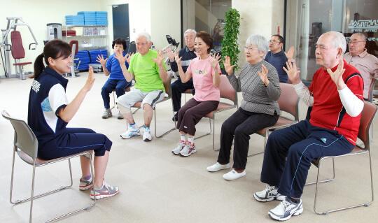 高齢者運動指導員養成講座